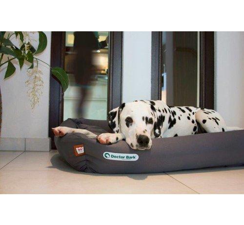 Doctor Bark Orthopedic Dog Bed Grey