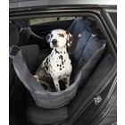 Doctor Bark Dog blanket for the back seat - one seat Grey