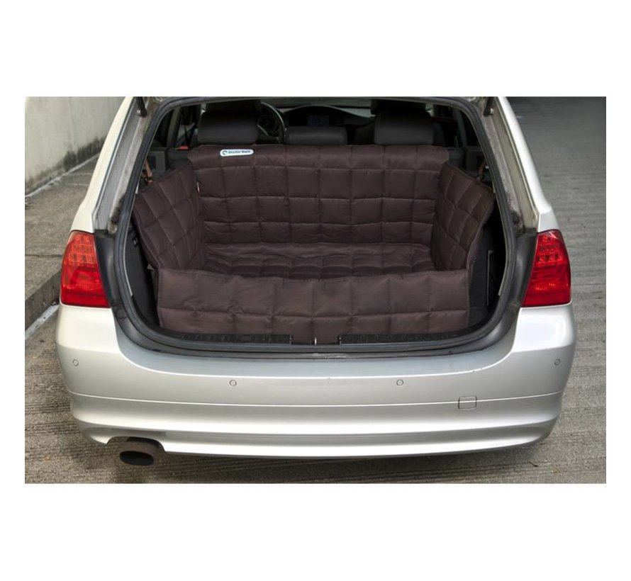 Dog blanket for the trunk Brown