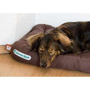 Doctor Bark Dog Cushion Brown