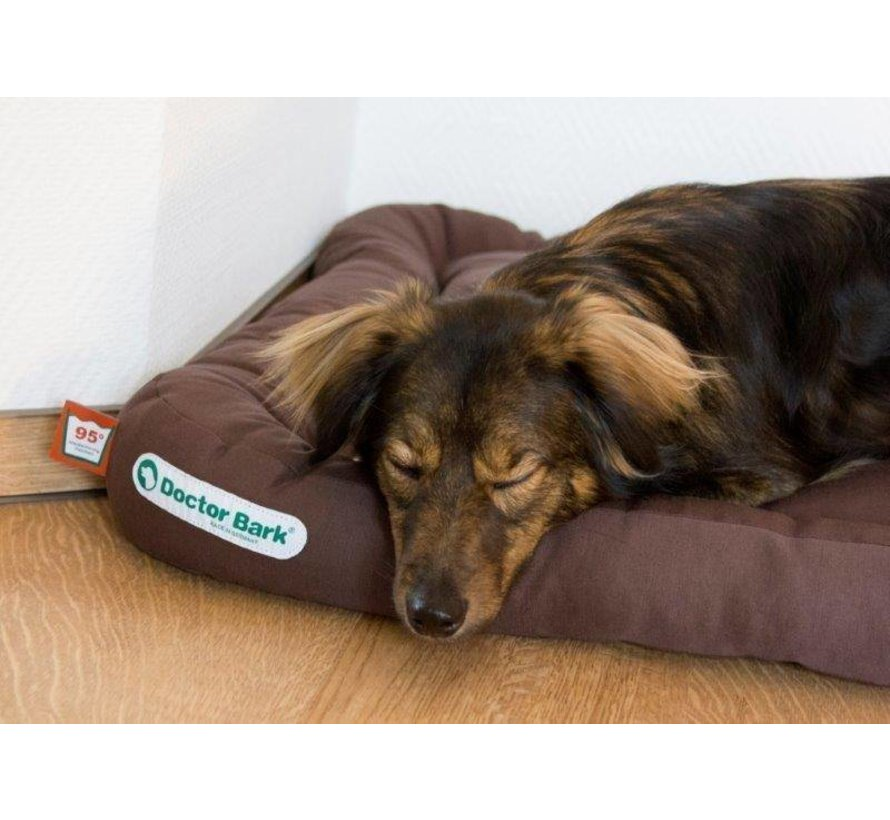 Orthopedic Dog Cushion Brown