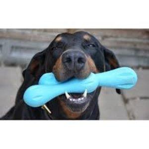 West Paw Design Dog Toy Zogoflex Hurley Aqua