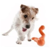 West Paw Design Dog Toy Zogoflex Tizzi Orange
