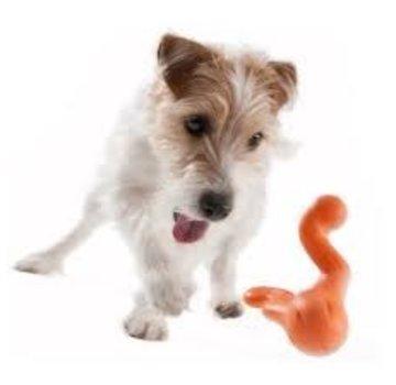 West Paw Design Dog Toy Zogoflex Tizzi Orange