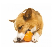 West Paw Design Dog Toy Zogoflex Toppl Orange