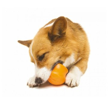 West Paw Design Dog Toy Zogoflex Toppl Orange