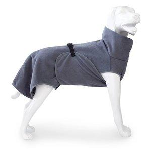 EQDOG Dog Bathrobe Doggy Dry Dark Grey