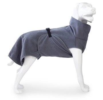 EQDOG Dog Bathrobe Doggy Dry Dark Grey