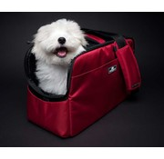 Sleepypod Hondentas Atom Dark Strawberry Red