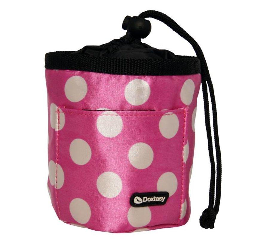 Beloningszakje Treat Bag Polkadot Pink