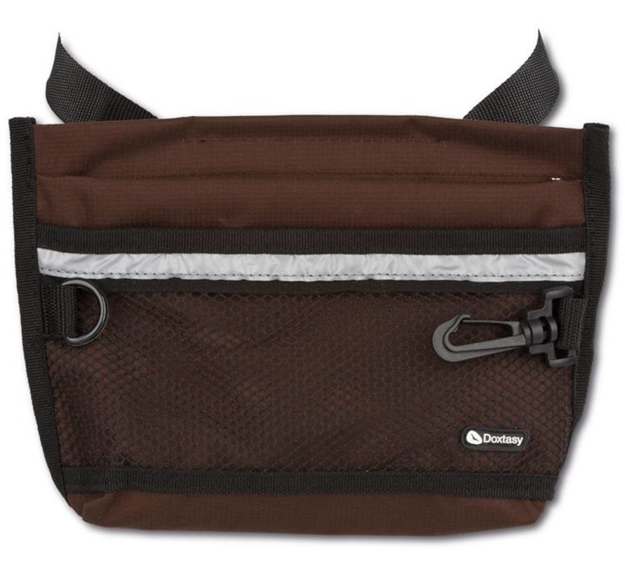Beloningszakje Treat Bag Large Chocolate Brown