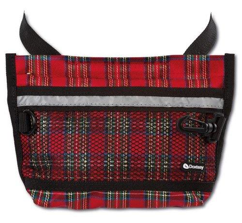 Doxtasy Treat Bag Large Tartan Red