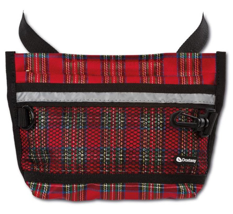 Beloningszakje Treat Bag Large Tartan Red