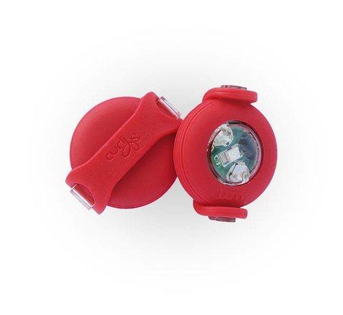 Curli Luumi LED lights Red