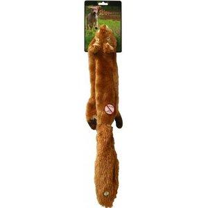 Skinneeez Dog Toy Plush Squirrel Large
