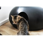 Sindesign Kattenbak Poopoopeedo zwart