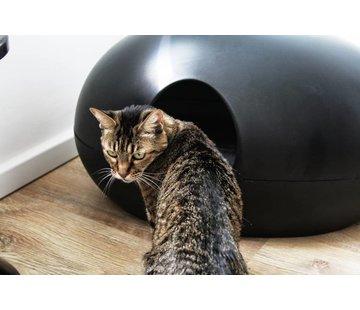 Sindesign Kattenbak Poopoopedo zwart