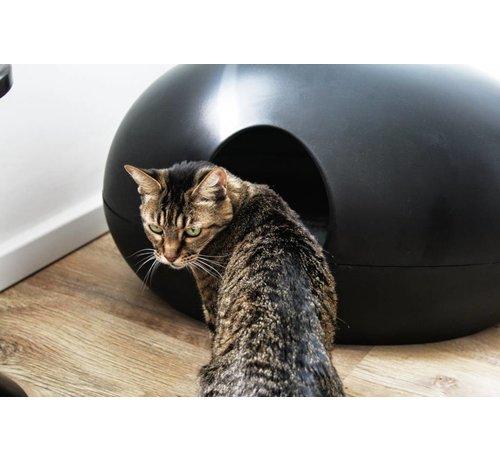 Sindesign Design Kattenbak Poopoopedo zwart