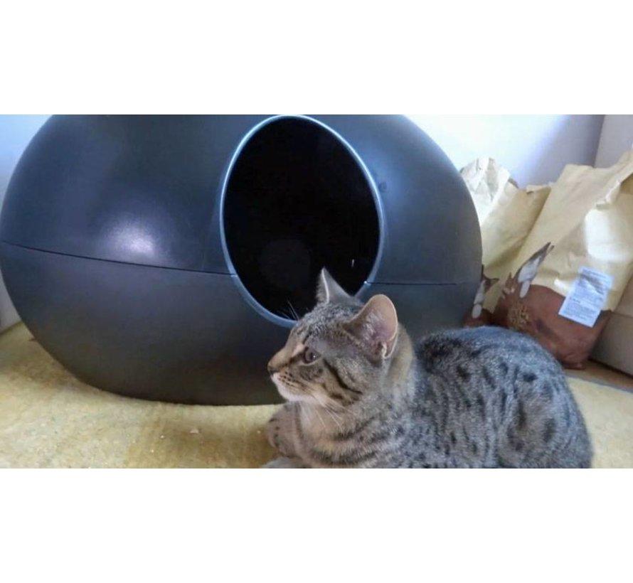 Design Kattenbak Poopoopedo zwart