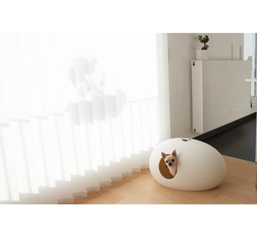 Design Kattenbak Poopoopeedo wit