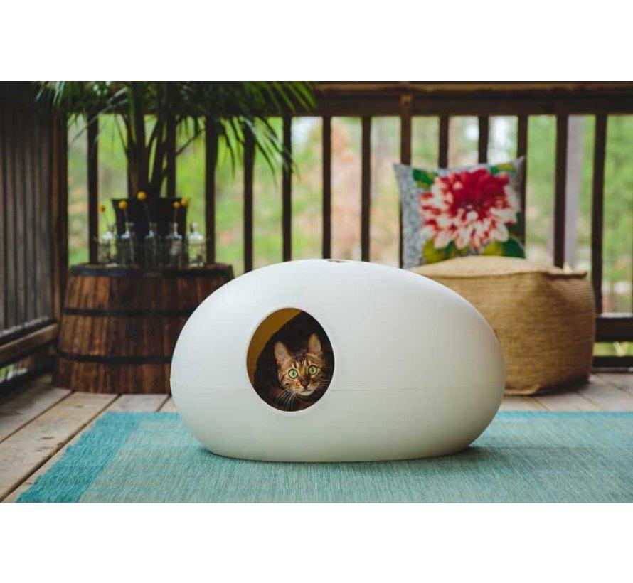Design Kattenbak Poopoopedo wit
