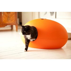 Sindesign Design Kattenbak Poopoopedo oranje