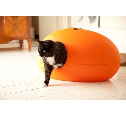 Sindesign Design Kattenbak Poopoopeedo oranje