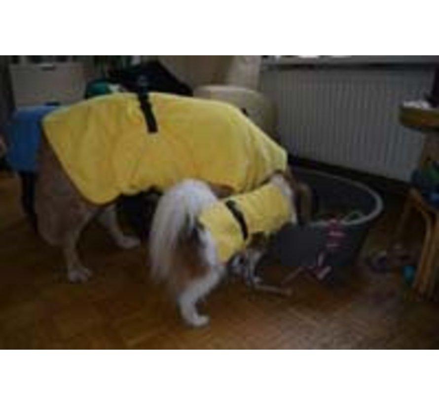 Dog Bathrobe Doggy Dry Yellow