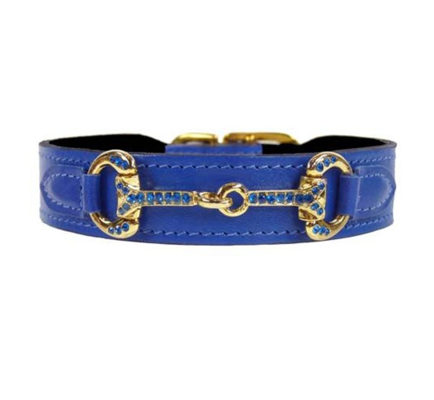 Hondenhalsband Horse & Hound Kobalt Blauw