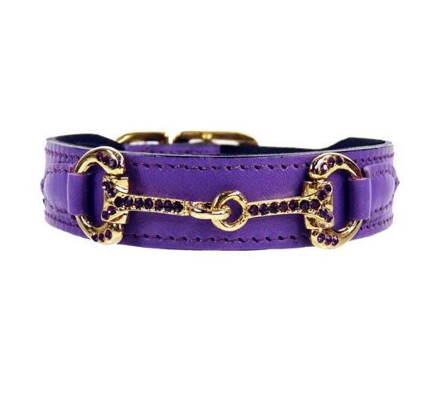 Dog Collar Horse & Hound Lavender