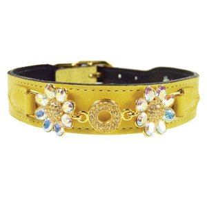 Hartman and Rose Hondenhalsband Daisy Geel