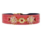Hartman and Rose Hondenhalsband Daisy Roze
