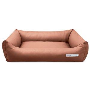 Dogsfavorite Dog Bed Leatherette Cognac