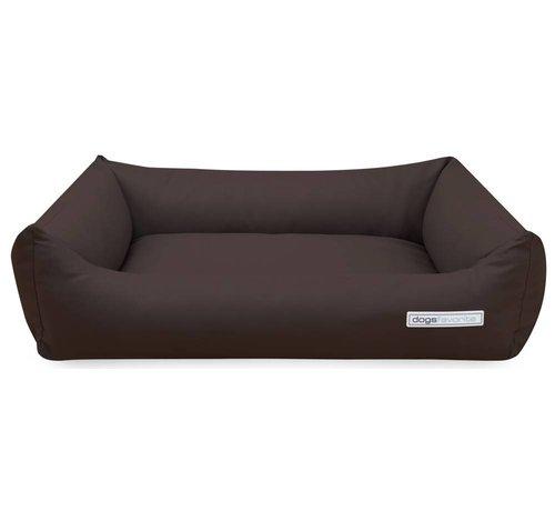 Dogsfavorite Dog Bed Leatherette Mokka