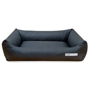 Dogsfavorite Dog Bed Leatherette Dark Grey