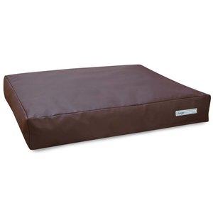 Dogsfavorite Dog Cushion Big Pad Leatherette Brown