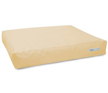 Dogsfavorite Dog Cushion Big Pad Leatherette Cream