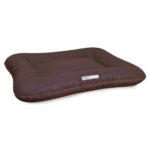 Dogsfavorite Dog Bed Classic Leatherette Brown