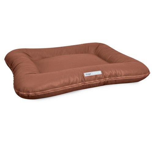 Dogsfavorite Dog Bed Classic Leatherette Cognac
