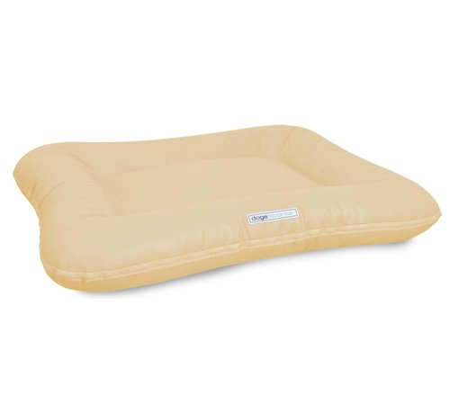 Dogsfavorite Dog Bed Classic Leatherette Cream