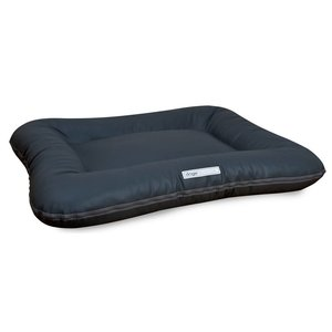 Dogsfavorite Dog Bed Classic Leatherette Dark Grey