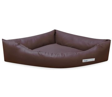 Dogsfavorite Dog Bed Dogs Corner Leatherette Brown