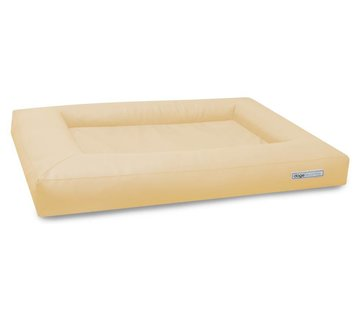 Dogsfavorite Dog Bed Cube Leatherette Cream