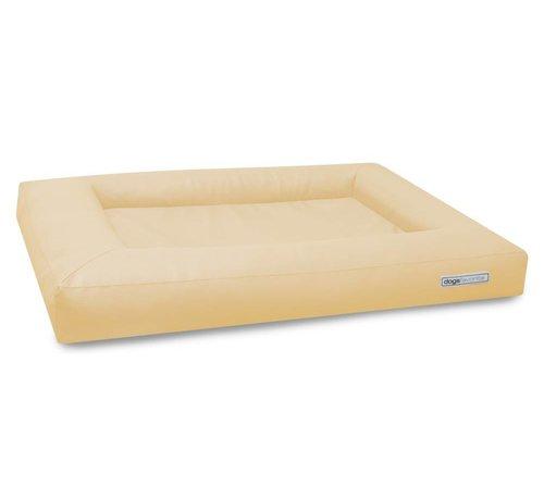 Dogsfavorite Dog Bed Cube Leatherette Cream