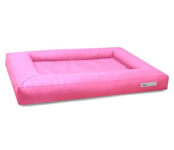 Dogsfavorite Dog Bed Cube Leatherette Pink