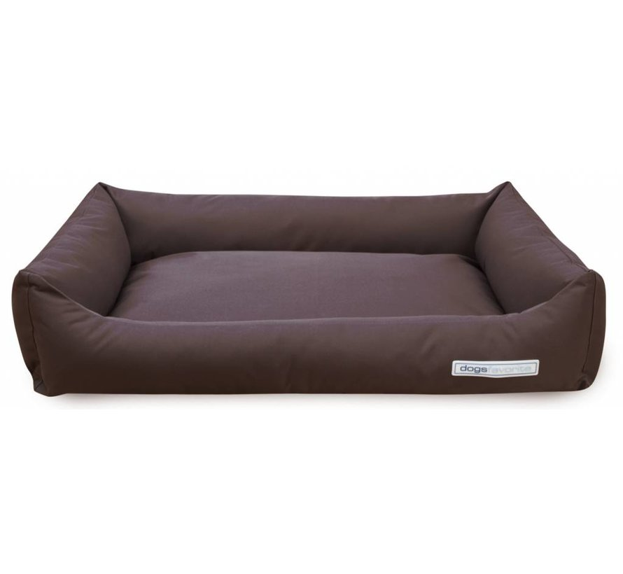 Dog Bed Outdoor Comfort Brown