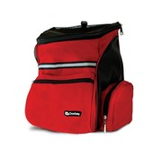 Doxtasy Dog Backpack Red