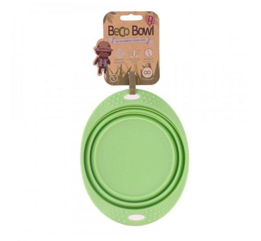 Drinkbak of voerbak Travel Bowl Groen