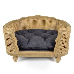 Lord Lou Dog Bed Arthur Anthracite Grey