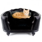 Lord Lou Cat Bed Arthur Black Velvet